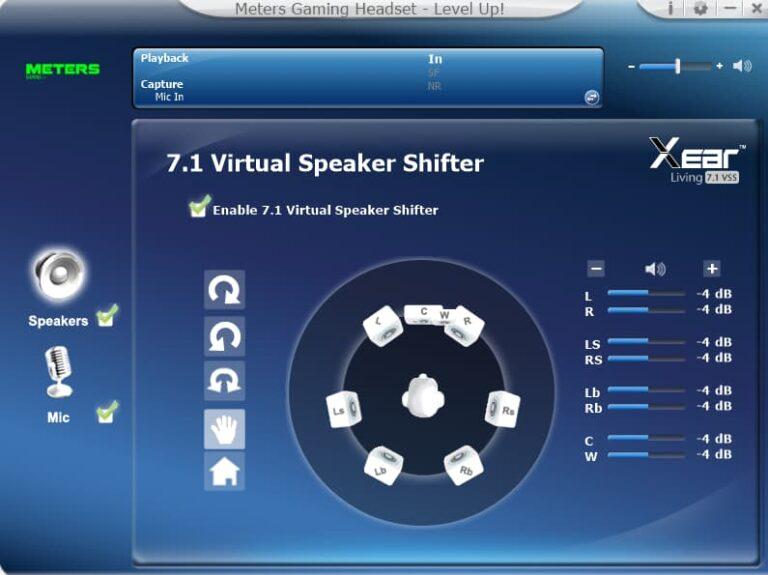 Meters Music software