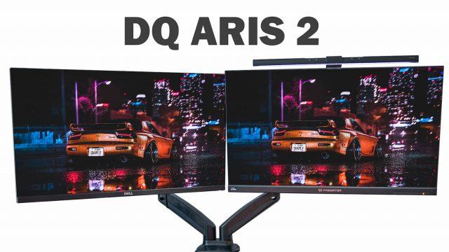 dq aris 2 dubbele monitorarm review